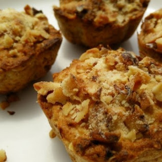 Banana Walnuts Oats Muffins with Philips Airfryer.