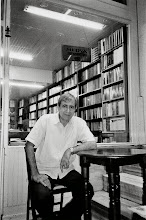 Photo: Salahattin Bulut, writer and owner of the well known Kurdish bookstore Medya Kitapevi in Istanbul, 2005
