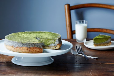 Matcha-black sesame cheesecake, waffled grilled cheese, and more