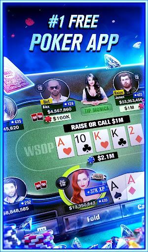 World Series of Poker - Texas Hold'em Poker screenshot 1