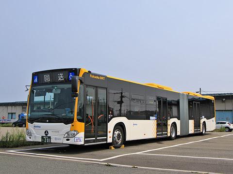 西鉄 福岡連接バス 0201_03 /></div> <br /> <div align=