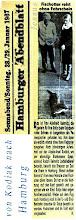 Photo: Ein Otter aus Alaska macht Urlaub in Hamburg. Der Storchenvater Wilhelm Schwen lebte von 1890 - 1972.