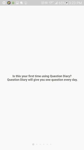 Questions Diary screenshot 4