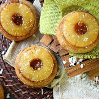 : Pineapple Coconut Upside Down Cake