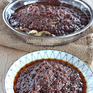 Sambal Goreng - Fried Chili Paste.