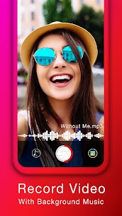 Add Music to Video  Free : Record Video with Music App Download For Android 1