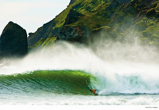 Photo: Photo of the Day: Sam Hammer, Iceland. Photo: Burkard #Surfer #SurferPhotos