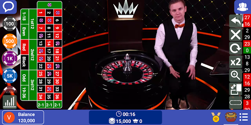 Live Dealer Casino: Baccarat Free & Roulette Games 0.17.0 screenshots 1