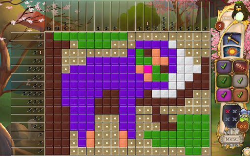 Fantasy Mosaics 34: Zen Garden - screenshot