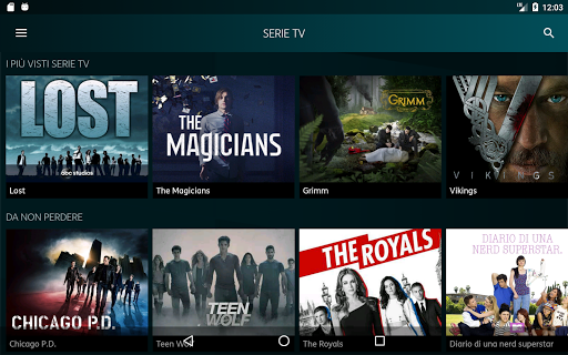 Timvision 10 apk by telecomitalia details for Timvision app smart tv