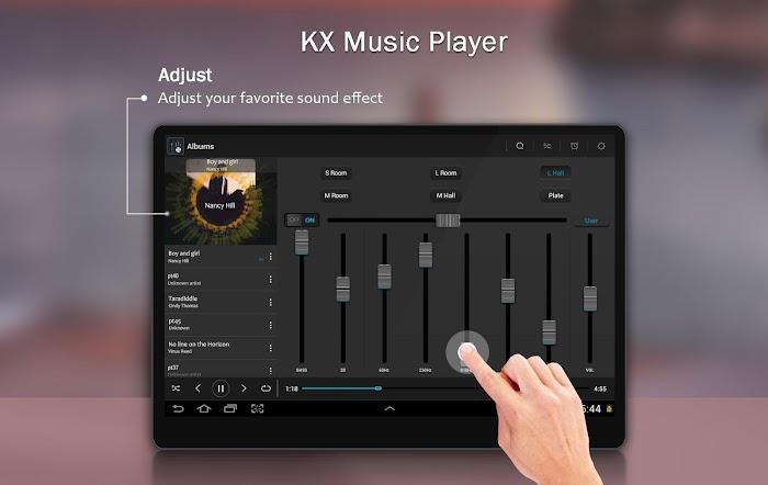 KX Music Player +- screenshot