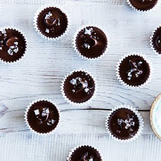 Dark Chocolate & Almond Butter Cups.