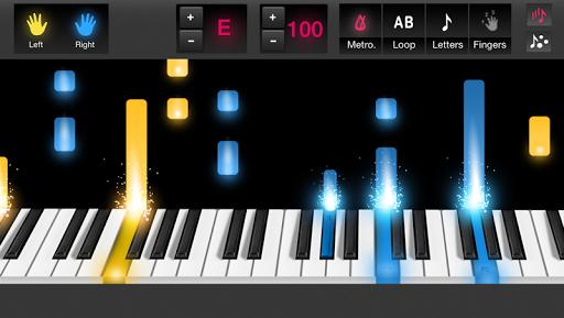 鋼琴教程對於流行的歌曲通過