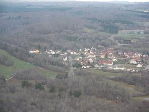 Photo: La rochère vue d'avion coté sud le 26/12/2009