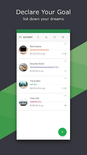 Thriv - Savings Goal screenshot 1