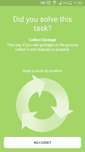Go Green Challenge - náhled