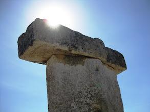 Photo: Taula (kuten näitä Menorcalla kutsutaan)