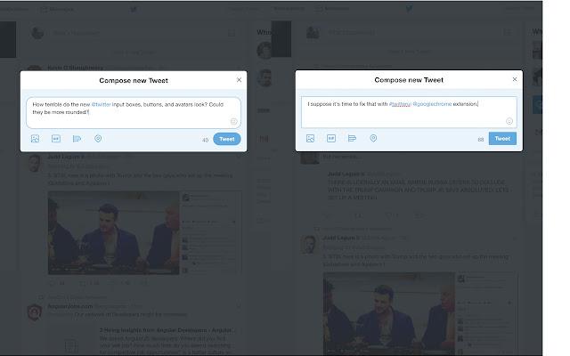 Twitter UI Fix