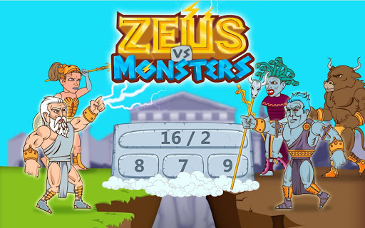 Math Games - Zeus vs. Monsters 1.19 screenshots 7