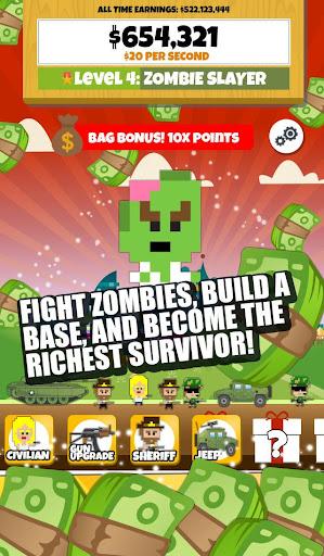 Zombie Wars 2: Idle Clicker