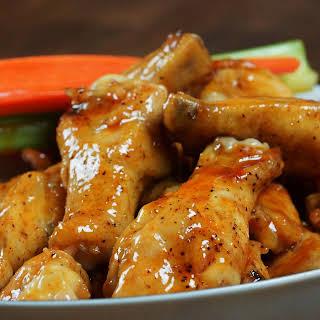 Sweet & Spicy Cajun Wings.