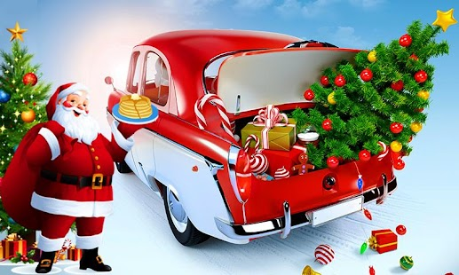 Santa Christmas Gifts Car Simulator - náhled