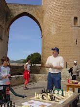 Photo: Diumenge del Angel, Castell de Bellver. Presentació Torneig de ràpides