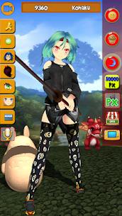 My Virtual Manga Girl Anime 3D MOD APK [Unlimited Money] 3