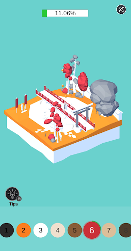 Code Triche Color Pocket World 3D APK MOD (Astuce) screenshots 1