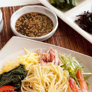 Hiyashi Chuka--Cold Ramen Noodles