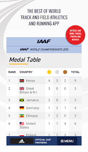 IAAF.org- screenshot thumbnail