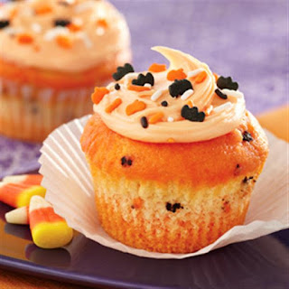 Funfetti® Color Me Halloween Cupcakes.