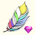 Coloring Diorama (Paid) : Color by Number icon