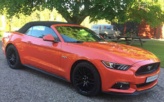 Ford Mustang Rent Örebro