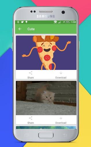 Whats a Gif - GIFS Sender(Saver,Downloader, Share) 2.2.9.5 screenshots 5