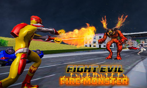 Flame Hero Flying Superhero City Rescue Mission 1.0.5 Cheat screenshots 1