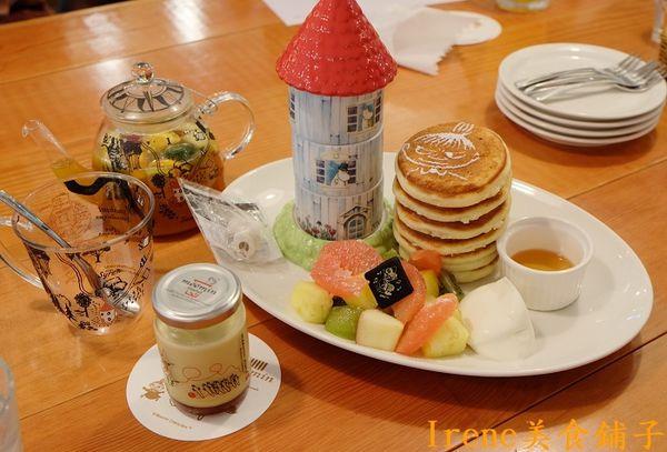 【Moomin Cafe 嚕嚕米主題餐廳】可愛的店~用餐就是療癒啊!(東區下午茶)