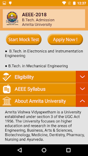 AEEE - Amrita University - náhled