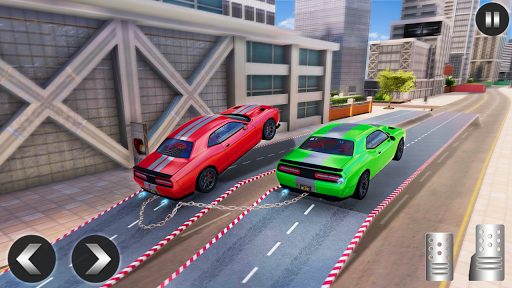 Chained Car Racing 2020: Chained Cars Stunts Games android2mod screenshots 4
