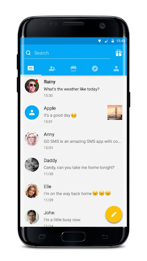 GO SMS Pro - Messenger, Free Themes, Emoji 7.75 screenshots 3