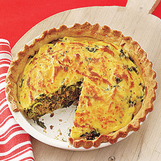 Beef-and-Spinach Pie