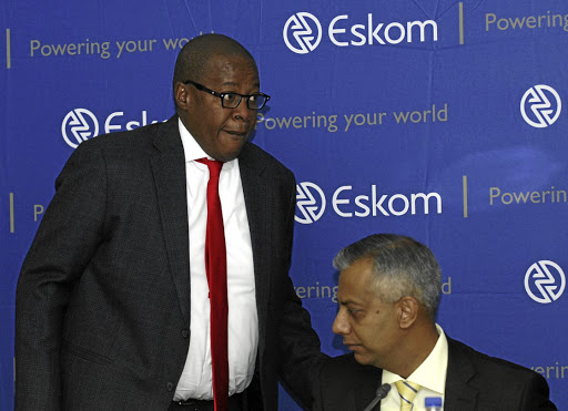 Listed witnesses: Former Eskom CEO Brian Molefe and finance chief Anoj Singh are likely to appear before Parliament's portfolio committee on public enterprises when it begins its inquiry into the embattled power utility. Picture: SUPPLIED