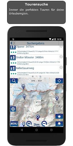 Outdoor and Hiking Navigation  screenshots 3