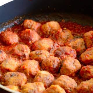 Spanish Tapas Meatballs.