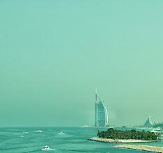 Photo: Das ehemals höchste Hotel der Welt, das Burj Al Arab