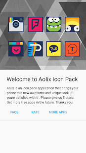 Aolix - Icon Pack Screenshot