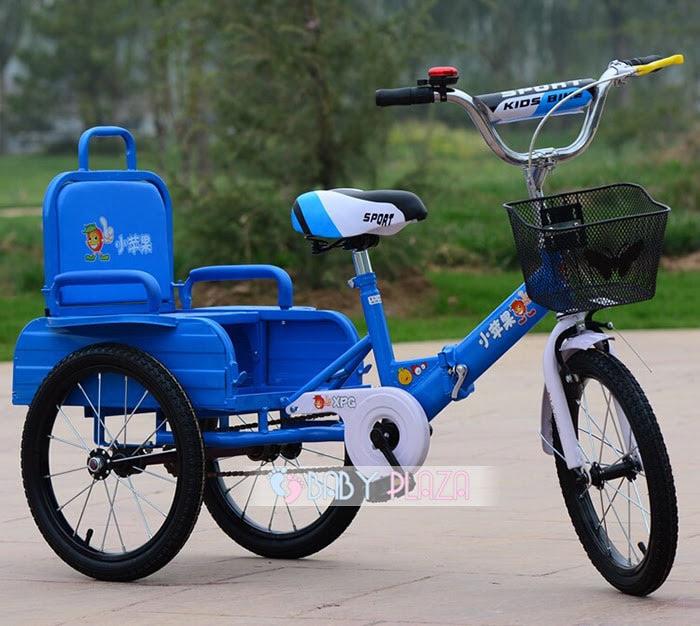 Xe đạp xích lô dành cho bé yêu XL-01 3