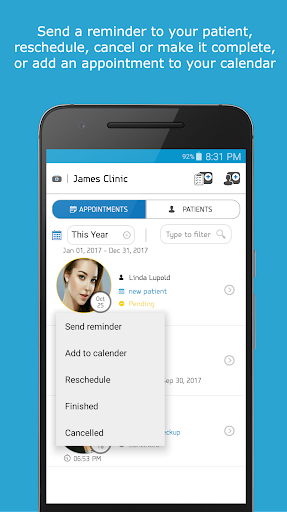 Patient Medical Records & Appointments for Doctors 4.0 screenshots 3