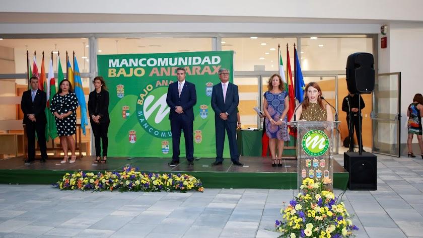 Ángeles Castillo Muñoz, presidenta de la Mancomunidad de Municipios del Bajo Andarax.
