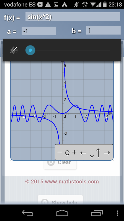 3D Functions Grapher- screenshot